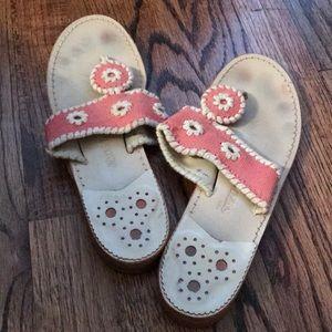 Pink Jack Rogers Sandals
